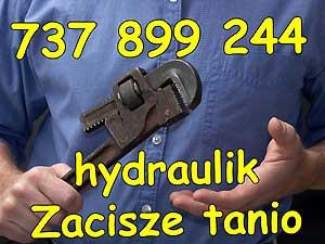 hydraulik Zacisze tanio